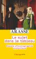 Couverture Le sujet dans le tableau Editions Flammarion (Champs - Arts) 2021
