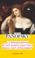 Couverture La Renaissance et ses avant-courriers dans l'art d'Occident Editions Flammarion (Champs - Arts) 2021