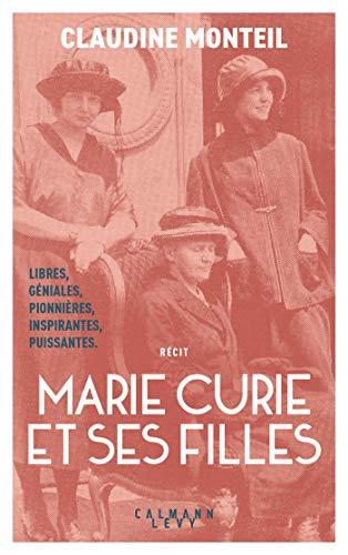 Couverture Marie Curie et ses filles