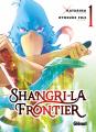 Couverture Shangri-la Frontier, tome 1 Editions Glénat (Shônen) 2021