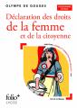 Couverture Déclaration des droits de la femme et de la citoyenne /