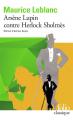 Couverture Arsène Lupin contre Herlock Sholmès Editions Folio  (Classique) 2021