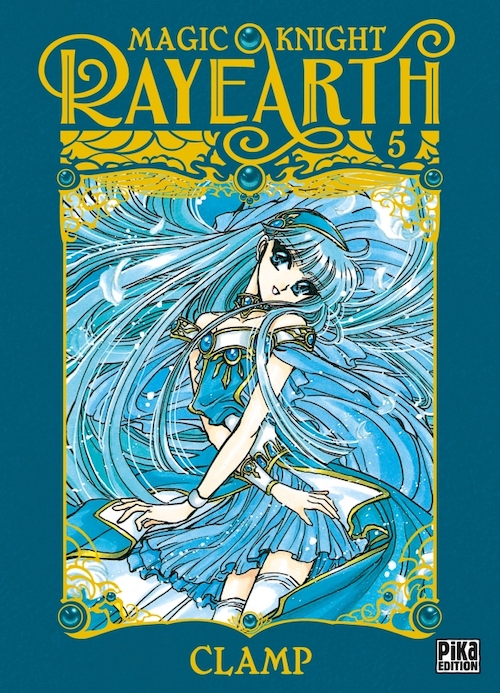 Couverture Magic Knight Rayearth, tome 5