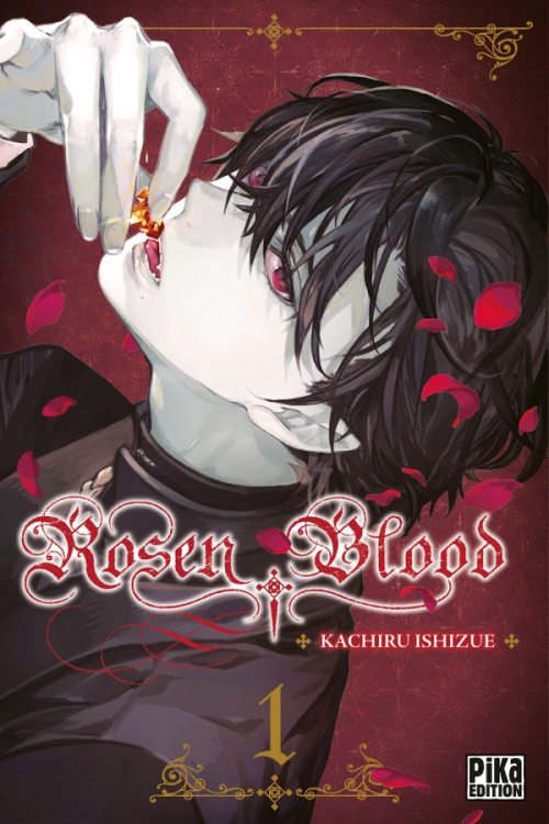 Couverture Rosen Blood, tome 01