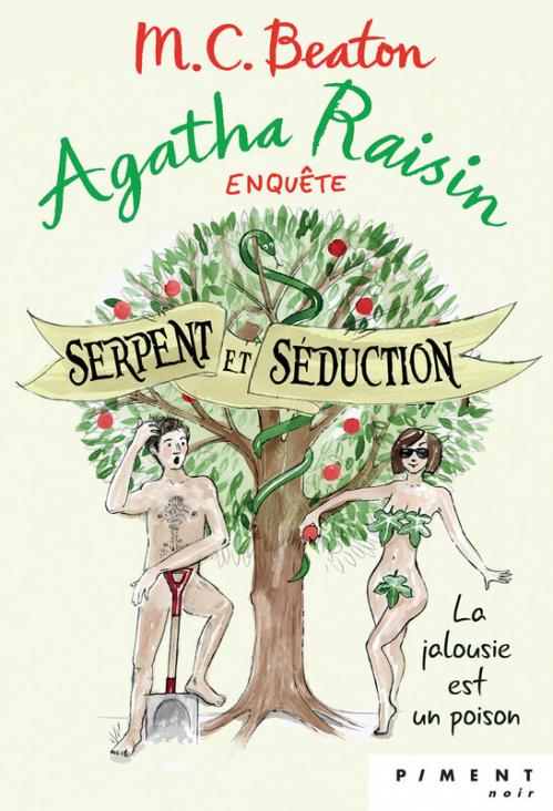 Couverture Agatha Raisin enquête, tome 23 : Serpent et séduction