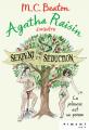 Couverture Agatha Raisin enquête, tome 23 : Serpent et séduction Editions France Loisirs (Piment - Noir) 2021