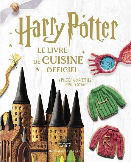 Couverture Harry Potter, Le livre de cuisine officiel