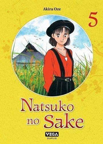 Couverture Natsuko no Sake, tome 5