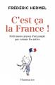 Couverture C'est ça la France ! Editions Flammarion 2021