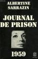 Couverture Journal de prison 1959 Editions Le Livre de Poche 1974