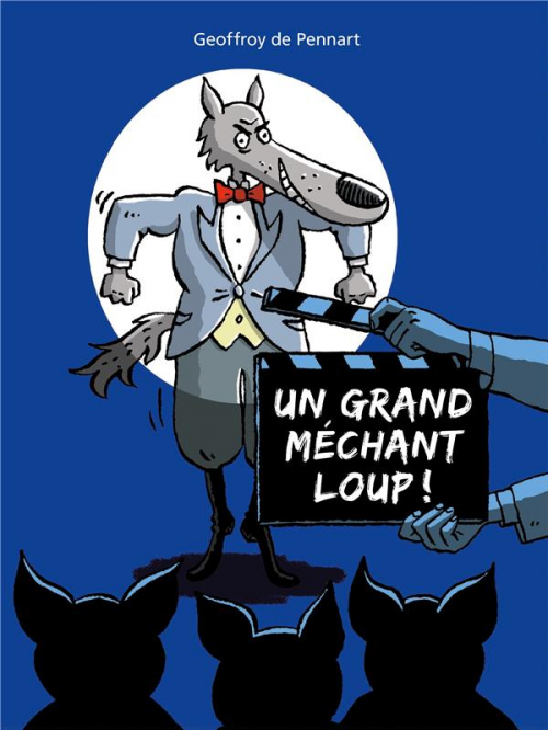 Couverture Un grand méchant loup !