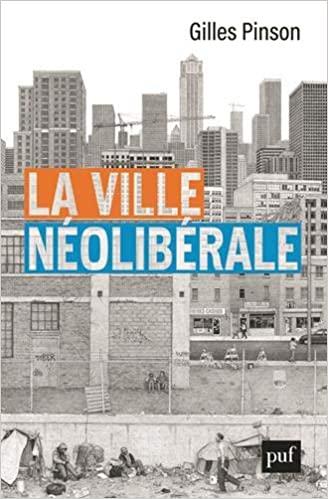 Couverture La ville néolibérale