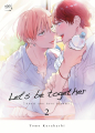 Couverture Let's be together, tome 2 Editions Taifu comics (Yaoï) 2021