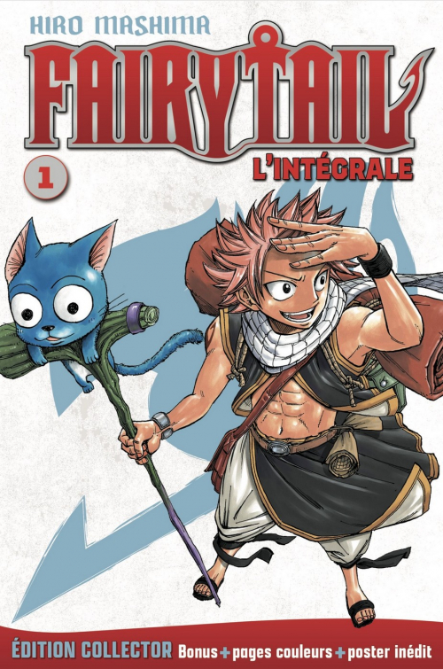 Couverture Fairy Tail, intégrale, tome 01