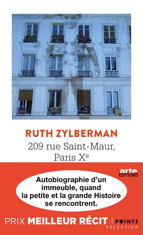 Couverture 209 rue Saint-Maur, Paris Xe Autobiographie d'un immeuble