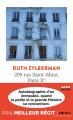 Couverture 209 rue Saint-Maur, Paris Xe Autobiographie d'un immeuble Editions Points 2021
