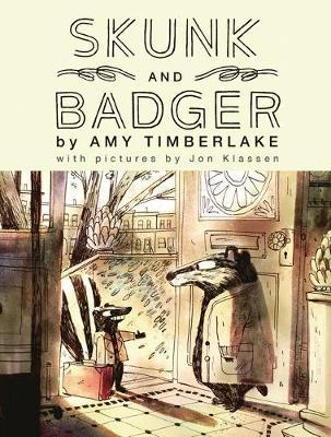 Couverture Skunk and Badger