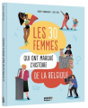 Couverture Les 30 femmes qui ont marqué l'histoire de la Belgique Editions Auzou  2021