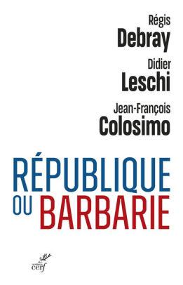 Couverture République ou barbarie