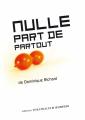 Couverture Nulle part de partout  Editions Théâtrales (Jeunesse) 2020