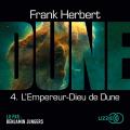 Couverture Le Cycle de Dune (7 tomes), tome 5 : L'Empereur-dieu de Dune Editions Lizzie 2019