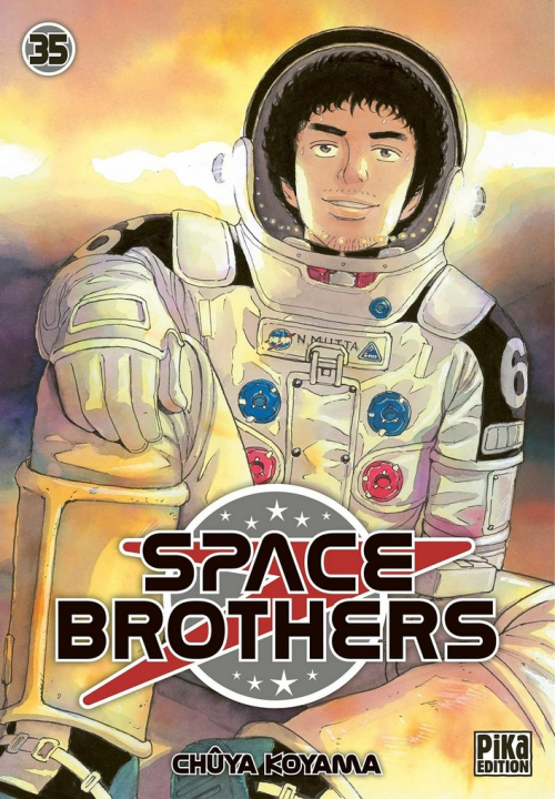 Couverture Space brothers, tome 35