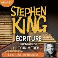 Couverture Écriture : Mémoires d'un métier Editions Audiolib 2020