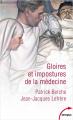 Couverture Gloires et impostures de la médecine Editions Perrin (Tempus) 2021