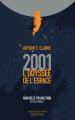 Couverture 2001 : L'odyssée de l'espace Editions Robert Laffont (Ailleurs & demain) 2021