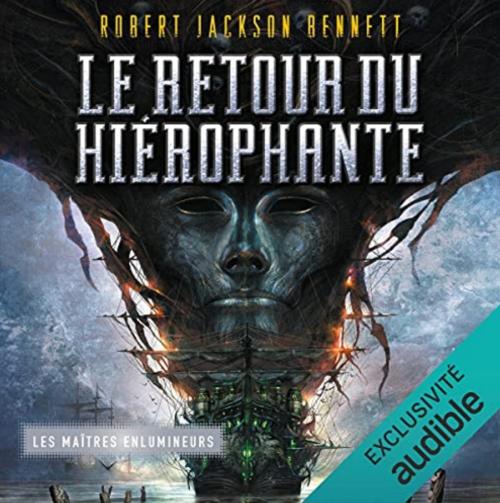 Couverture Les Maîtres enlumineurs, tome 2 : Le Retour du Hiérophante