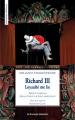 Couverture Richard III Editions Les Solitaires Intempestifs 2016