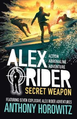 Couverture Alex Rider : Secret weapon