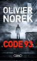 Couverture Code 93 Editions Michel Lafon 2013