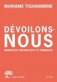 Couverture Dévoilons-nous : Manifeste antiraciste et feministe  Editions de l'Olivier 2021