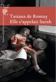 Couverture Elle s'appelait Sarah Editions Héloïse d'Ormesson 2013
