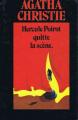 Couverture Hercule Poirot quitte la scène Editions France Loisirs (Agatha Christie) 1976