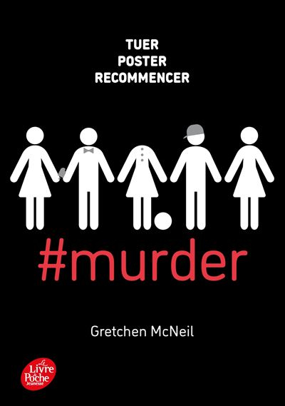 Couverture #murder, tome 1