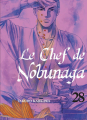 Couverture Le chef de Nobunaga, tome 28 Editions Komikku 2021