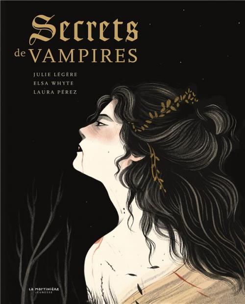 Couverture Secrets de vampires