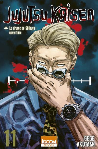 Couverture Jujutsu Kaisen, tome 11 : Le drame de Shibuya : ouverture