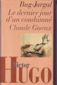 Couverture Bug-Jargal, Le dernier jour d'un condamné, Claude Gueux Editions France Loisirs 1996