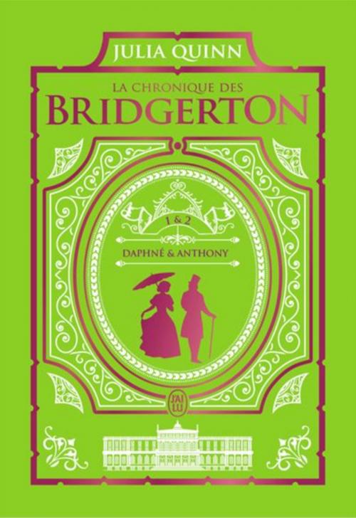 Couverture La chronique des Bridgerton, double, tomes 1 et 2