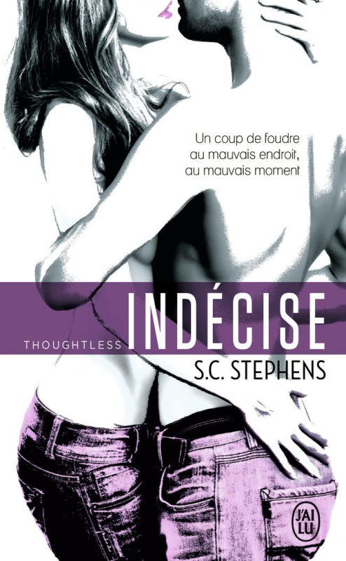 Couverture Thoughtless, tome 1 : Indécise
