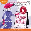Couverture Les enquêtes de Lady Rose, tome 2 : Soupçons et préjugés Editions Audiolib 2021
