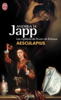 Couverture Les mystères de Druon de Brévaux, tome 1 : Aesculapius