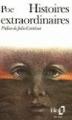 Couverture Histoires extraordinaires Editions Folio  1973