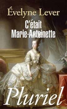 Couverture C'était Marie-Antoinette