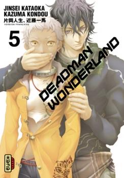 Couverture Deadman Wonderland, tome 05