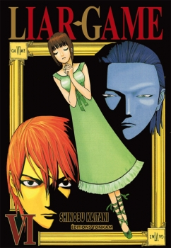 Couverture Liar game, tome 06