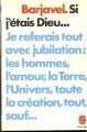 Couverture Si j'étais dieu... Editions Le Livre de Poche 1980